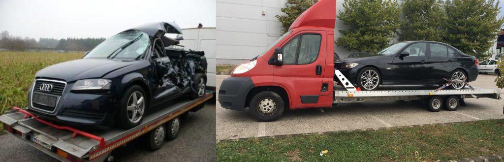 Autotransport Kosten in Österreich variieren stark je nachdem in welchem Zustand sich das Auto befindet.