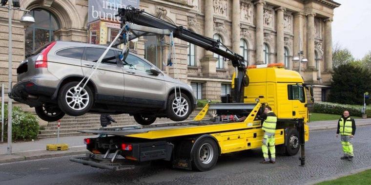 Auto abgeschleppt in Wien