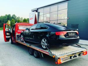 Autotransport vom Audi A4