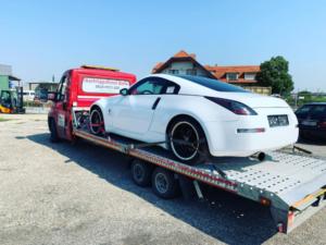 Autotransport von Nissan 300Z