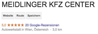 KFZ Werkstatt in Wien