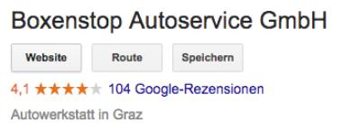 Boxenstop Autoservice GmbH
