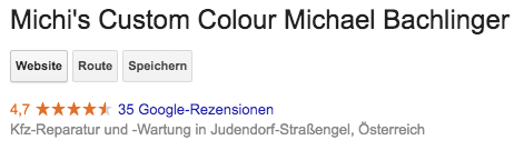 Michi's Custom Colour Michael Bachlinger