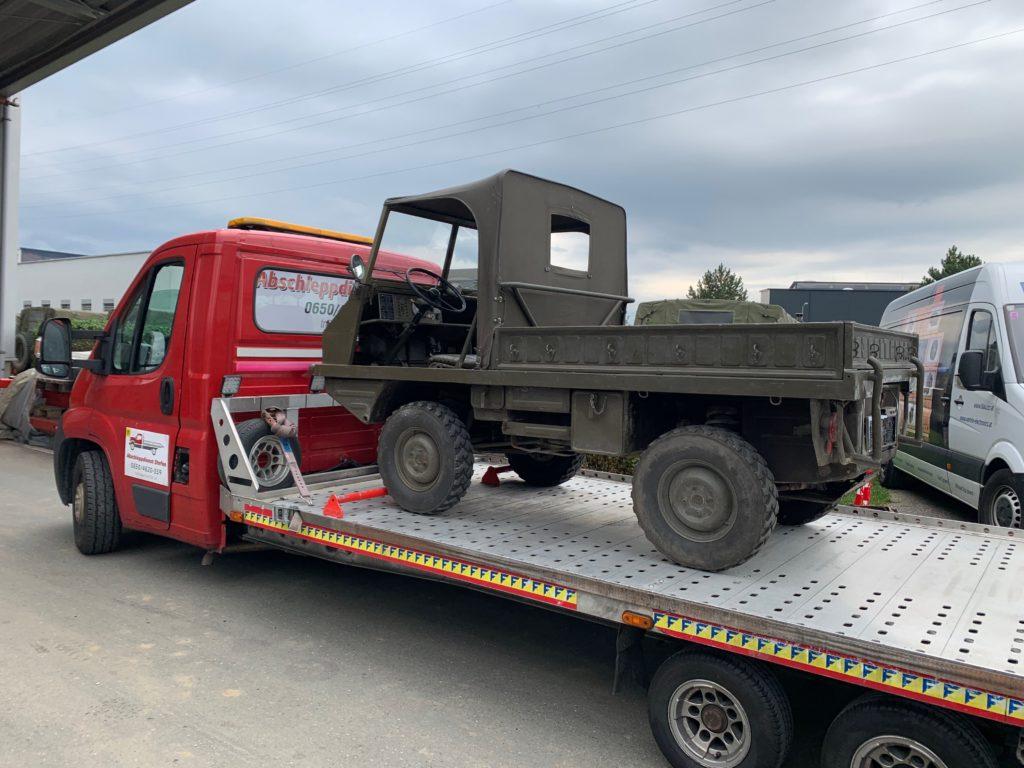 Puch Haflinger Transport