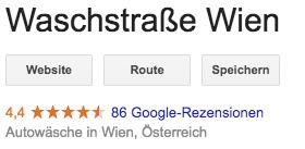 Waschstraße wien